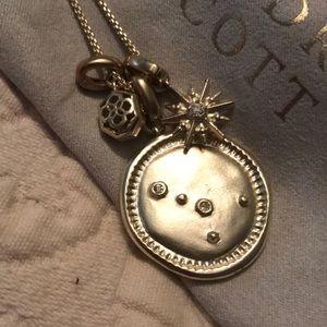 Kendra Scott June cancer charm necklace